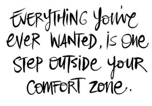 Image result for out of your comfort zone