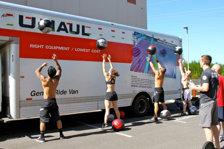 Image result for wall ball shot crossfit
